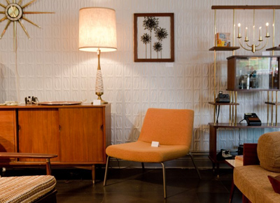 Rare Vintage: Mid Century Furniture And Of The Moment Art